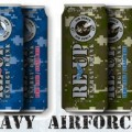 Reup military energy drinks
