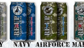 Re-Up Energy Drinks for Military – how you can help military families!