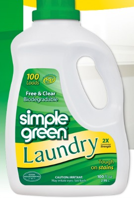 simple green laundry