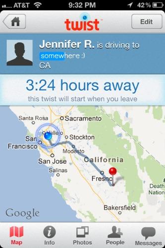 twist locator app