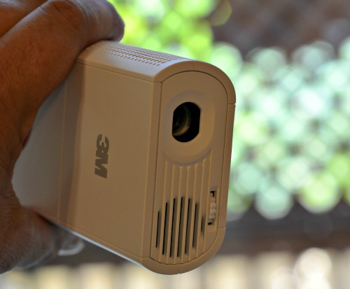 3M Portable movie projector, iphone movie projector