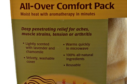 all over comfort pack features
