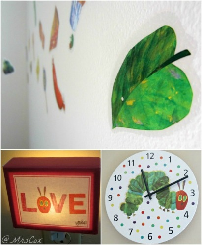 eric carle nursery decor,eric carle nightlight,eric carle,eric carle wall clock,eric carle room refresh,eric carle giveaway,eric carle review,the very hungry caterpillar,the very hungry caterpillar decor