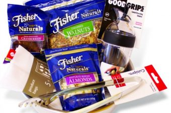 fisher nuts prize pack