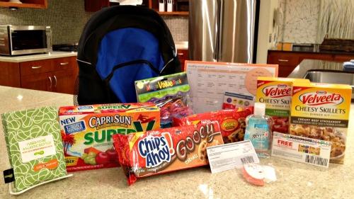 Kraft back to school, chips ahoy, lunchables, velveeta