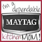 I'm a Kitchen Maytag Mom! #MaytagMom