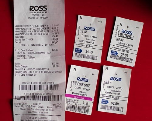 Ross online shopping