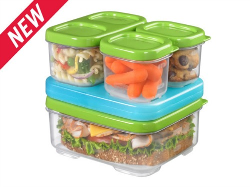 rubbermaid lunch containers