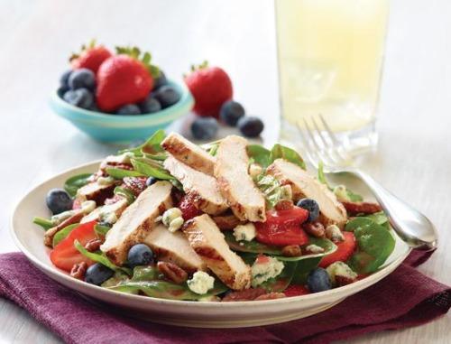 applebee's seasonal berry and spinach salad