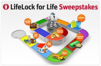 LifeLock for Life Sweepstakes – win some amazing prizes!
