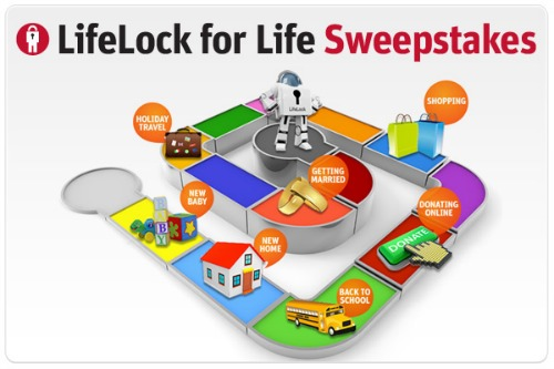 identity protection,LifeLock sweepstakes