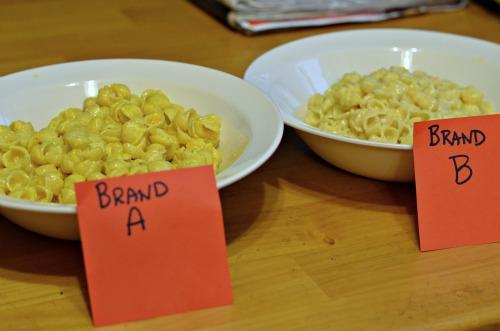 mac and cheese taste test,organic pasta