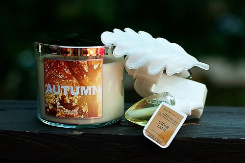autumn candles
