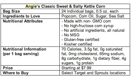healthy kettle corn,Angie's popcorn