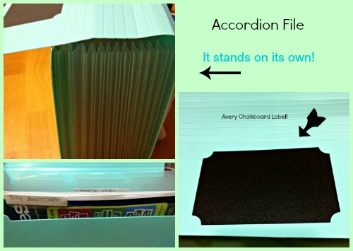 Avery Accordion file,organizing folder