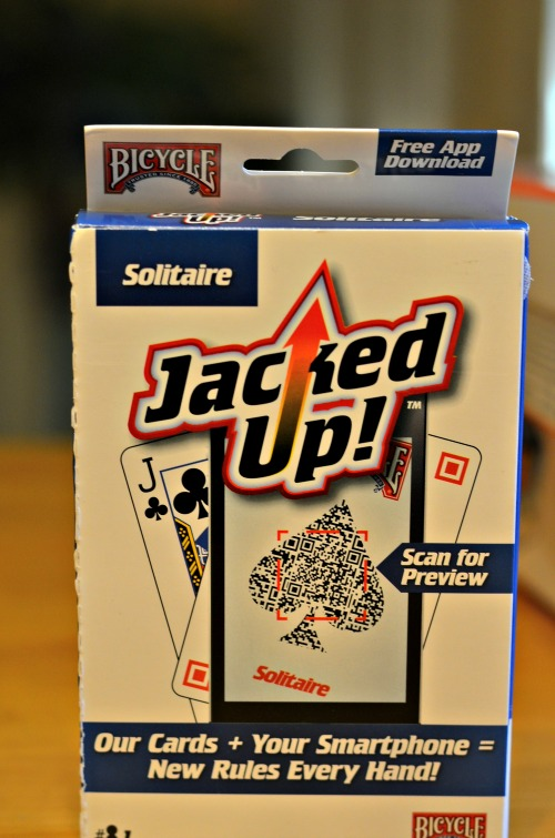 Bicycle playing cards jacked up