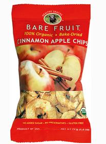 bare fruit snacks, bare fruit, apple chips