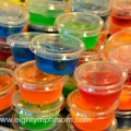 jello shots,teen party snacks,