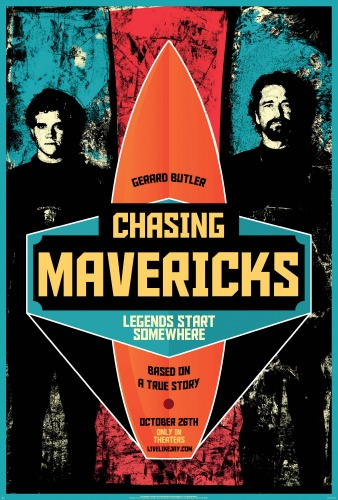 Chasing Mavericks,surfing movies