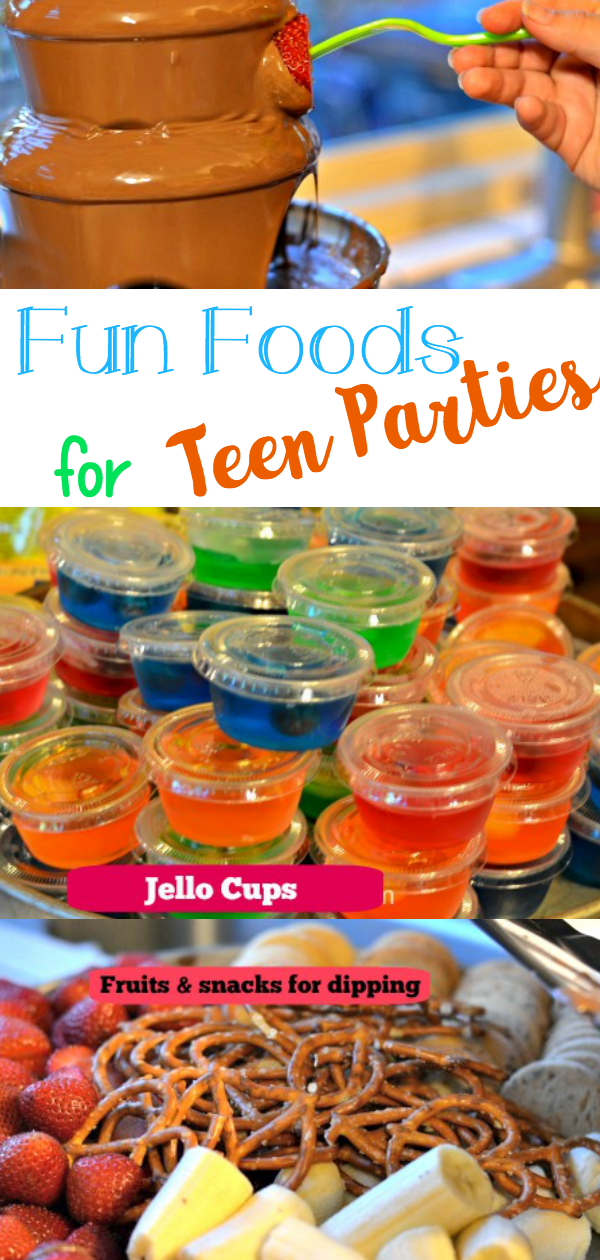 Teen party food ideas