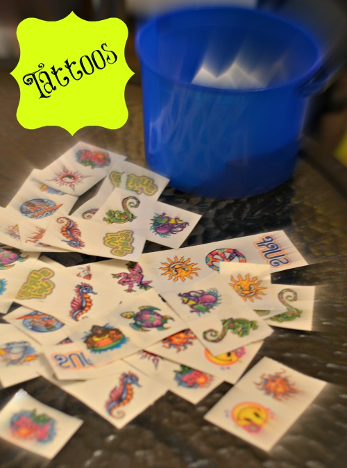 temporary tattoos,teen party ideas,activities
