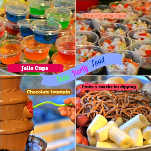 Party Food Ideas For Teens