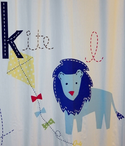 I Am Convinced That The Pottery Barn Kids ABC Collection Will Match Just  About Any Type Of Décor And, Though Some Of The Stitching On My Particular  Product ...