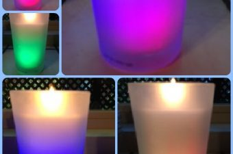 what colors are air wick color changing candles