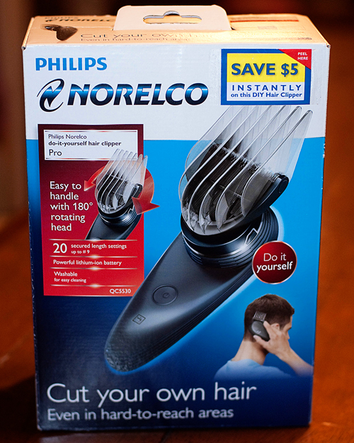 Philips norelco do it yourself hair clipper pro review do it yourself hair clipper will have you easily cutting your hair like a pro save solutioingenieria Choice Image