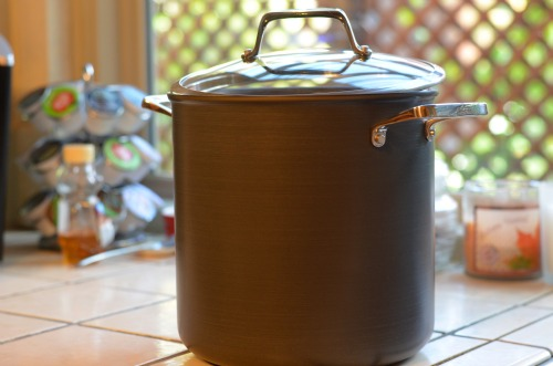 all-clad 8 quart stock pot,open stock