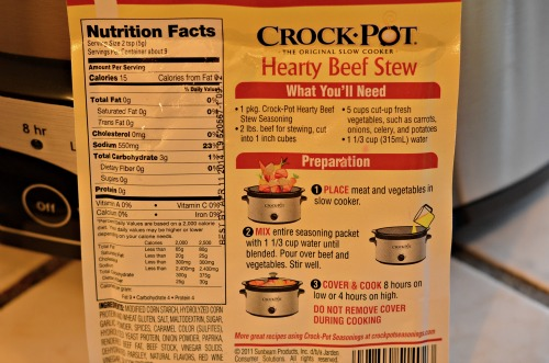 crock pot seasonings