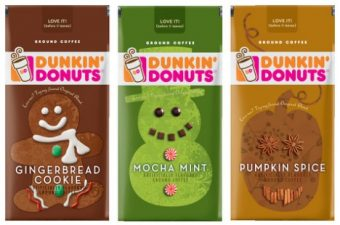 Dunkin' Donuts Holiday Coffee – now at grocery stores! #DDatHome