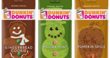 dunkin donuts holiday coffee blends