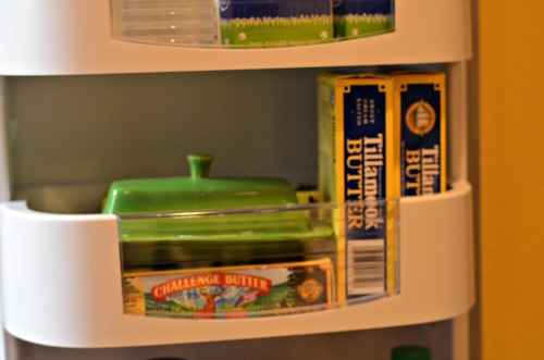 tillamook butter, refrigerator door shelf