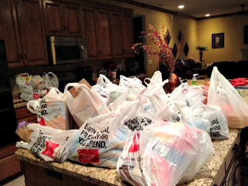 grocery bags,groceries