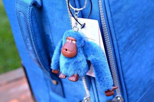 kipling blue monkey