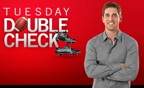 State Farm Double Check Tuesday,Aaron Rodgers