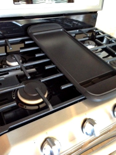 double oven with griddle burner,Maytag Gemini griddle