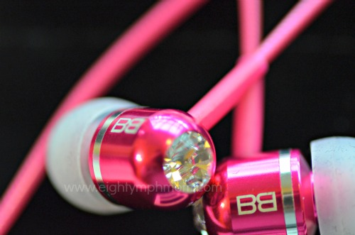 Bass Buds, ear buds with swarovski crystals