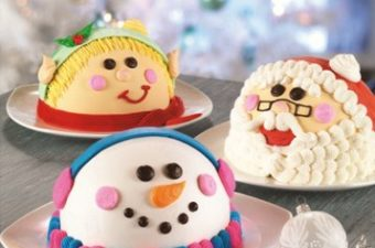 Baskin-Robbins Holiday Cakes – cute AND yummy!