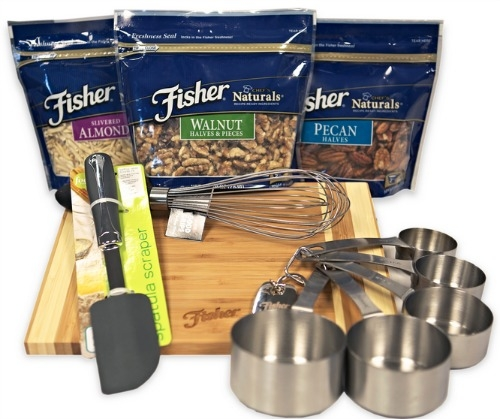 fisher nuts, holiday recipes, nut recipes, cooking with nuts