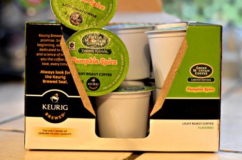 fair trade certified,pumpkin spice k-cups