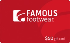 famous footwear gift card giveaway