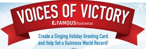 famous footwear voices of victory