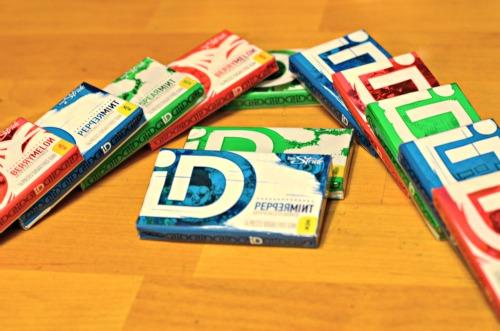 iD Gum,unique gum