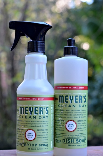 pine kitchen spray,mrs meyers pine scent