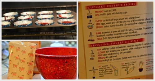 red velvet cupcake mix