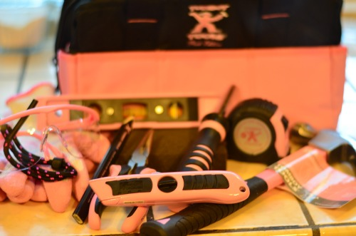 pink tools for women, tomboy tools