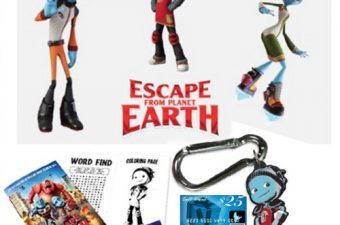 $25 Visa Gift Card and Escape from Planet Earth Prize Pack Giveaway