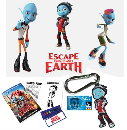 Visa gift card giveaway, escape from planet earth